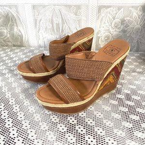 Lucky Brand women's high heel sandals